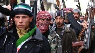 'Yan Tawayen kasar Syria masu yaki da gwamnatin Bashar Assad