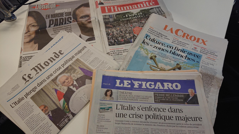 Diários franceses 28.05.2018