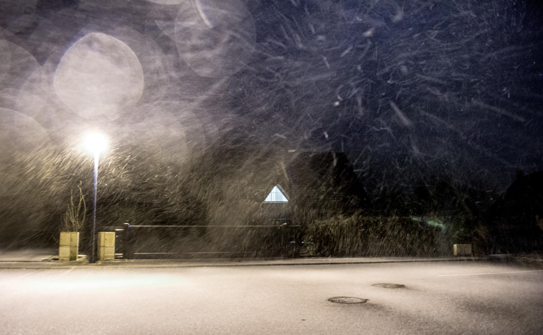A Normandia foi a região mais afetada durante a madrugada de ontem pela tempestade de inverno, com fortes ventanias.