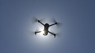 Drones are being used on Spanish beaches to warn people to respect safety rules