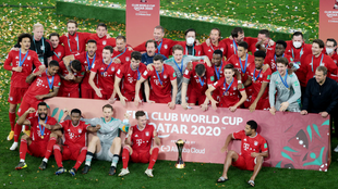 Bayern Munich won their sixth trophy in eight months when they claimed the Club World Cup.