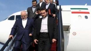 محمد جواد ظریف برای شرکت در اجلاس صلح پایدار وارد نیویورک شد