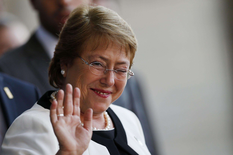 Michelle Bachelet, presidente do Chile