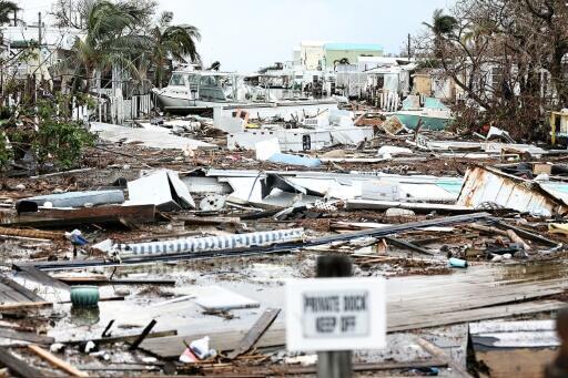 In September, Hurricane Irma struck the Florida Keys archipelago