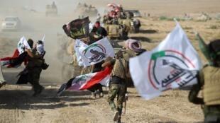 Wasu mayakan IS a birnin Mosul