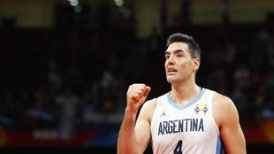 Luis Scola scored 28 points in Argentina's win over France.