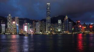 香港夜景 2018年7月6日 資料照片