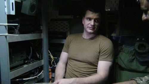 یکی از عکسهایی که روابط عمومی سپاه از ملوانهایی آمریکایی منتشر کرده است