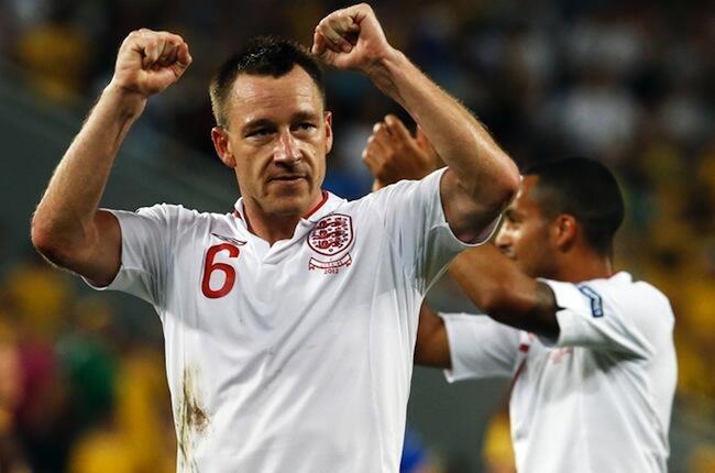 Nahodha wa timu ya taifa ya Uingereza, John Terry ambaye leo ataiongoza timu yake dhidi ya Ukraine
