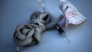 Heroína: redução de consumo em Portugal graças à descriminalização das drogas.