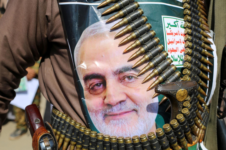 Hoton babban kwamandan Sojin Iran a ketare Qassem Soleimani da Amurka ta yiwa kisan gilla.