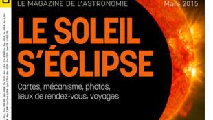Couverture «Ciel et Espace», mars 2015.