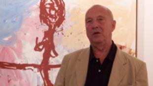 Georg Baselitz devant le « truc folklorique » (2008).