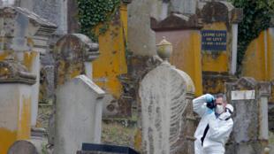 Кладбище в эльзасском Катценхайме оцеплено жандармерией