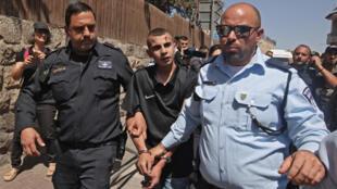 jerusalem manifestation palestiniens arrestations force de sécurité