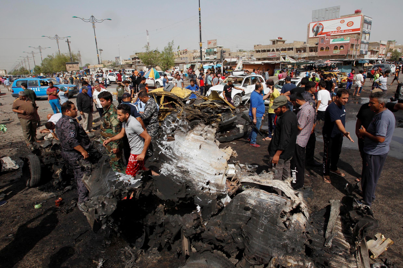 Mashambulizi ya kigaidi mjini Baghdad