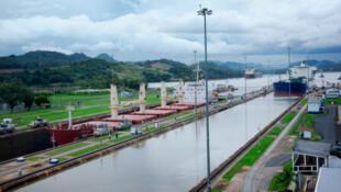 Foto del Canal de Panamá (archivo).