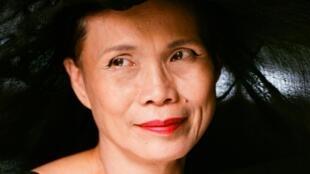 L'écrivaine et styliste Anna Moï.