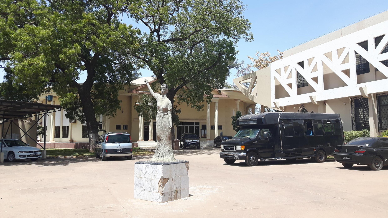 Le tribunal de Banjul.