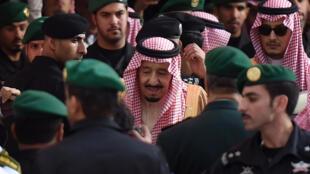 Le roi d'Arabie saoudite, Salman, le 20 janvier 2016 à Riyad.