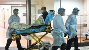 Bệnh viện Prince of Wales, Hồng Kông, ghi nhận một ca nghi nhiễm coronavirus, ngày 22/01/2020.