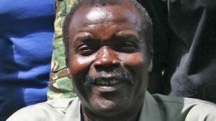 Joseph Kony in southern Sudan in 2008