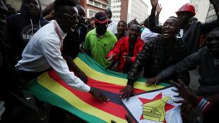 Yan adawa a Zimbabwe sun ki amincewa da sakamakon zaben kasar