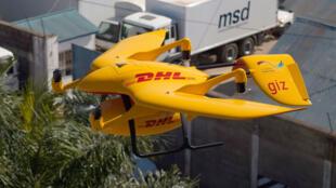 le fabricant de drones Wingcopterproduit les machines volantes du groupe de transport de marchandises DHL.