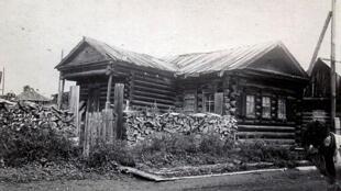 Une maison sibérienne.