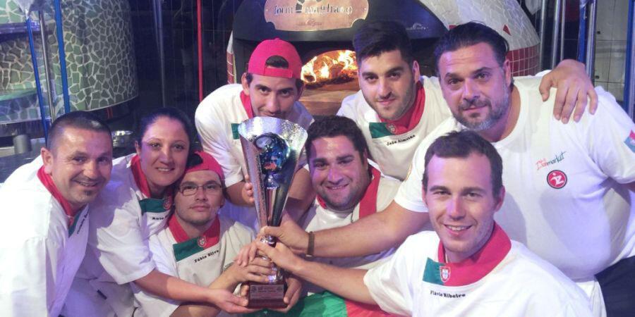 L'équipe portugaise au complet à Naples, il y a quelques jours.