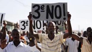 Masu adawa da matakin Shugaban kasar Pierre Nkuruziza na Burundi