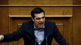 លោកនាយករដ្ឋមន្រ្តីក្រិក Alexis Tsipras