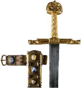 """Espada llamada """"Joyeuse"""" o """"Espada de Carlomagno"""""""