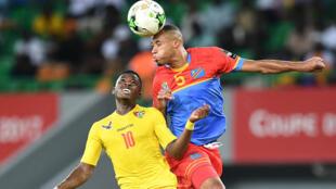Le Congolais Marcel Tisserand lors de la CAN 2017.