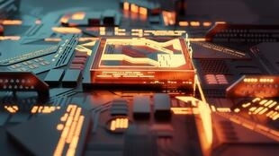 computer-glowing-futuristic-cpu-processor-concept-picture-id1193095471