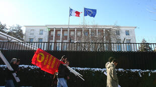 The French embassy in the Turkish capital of Ankara has been shut due to security concerns.