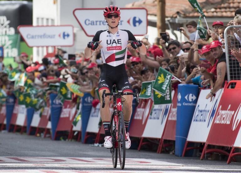 O esloveno Matej Mohorič venceu a sétima etapa da Volta a Espanha.