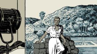 """Détail de la couverture de la bande dessinée """"Black Out"""" de Loo Huy Phang et Hugues Micol"""