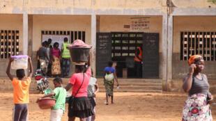 Photo prise à Lomé lors des élections législatives, le 20 décembre 2018.