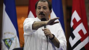 El presidente de Nicaragua, Daniel Ortega, el 31 de octubre de 2011.