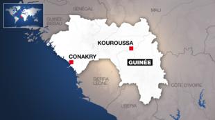 Guinée - Kouroussa - Carte