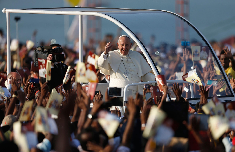Chegada do papa Francisco nesta quinta-feira (15) às Filipinas, primeiro país católico da Ásia.