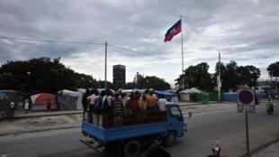 Evacuaciones en Puerto Principe.
