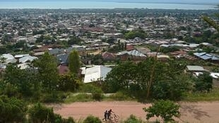 Moja ya maeneo ya mji mkuu wa kiuchumi wa Burundi, Bujumbura.