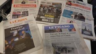 Diários franceses 12.01.2018