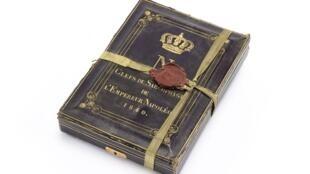 Boîte contenant les clefs du cercueil de Napoléon Ier, 1840