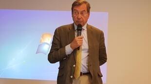 Bertrand Servois, président de la coopérative forestière Unisylva.
