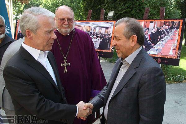 دیدار Joel Hunter رئیس هیأت مذهبی آمریکایی، با استاندار اصفهان
