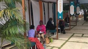 Female entrepreneurs in the Senegalese capital Dakar take part in a workshop to improve their coaching skills, 17 November, 2018