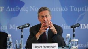 Olivier Blanchard, economista-chefe do FMI.